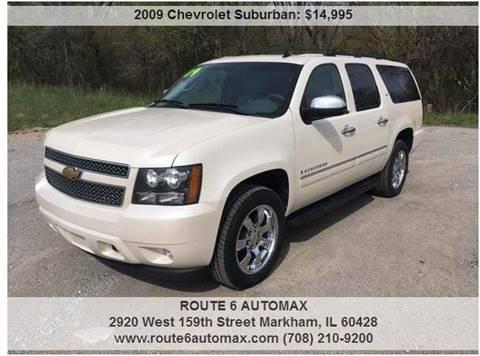 2009 Chevrolet Suburban for sale at ROUTE 6 AUTOMAX in Markham IL