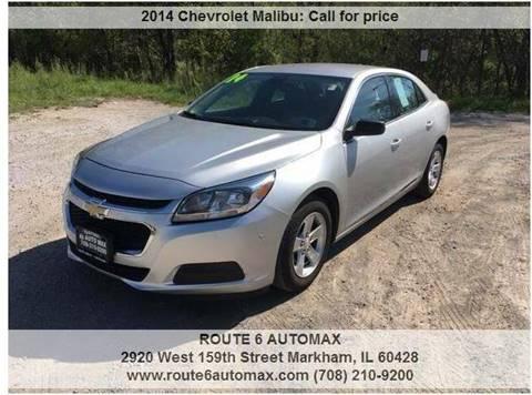 2014 Chevrolet Malibu for sale at ROUTE 6 AUTOMAX in Markham IL