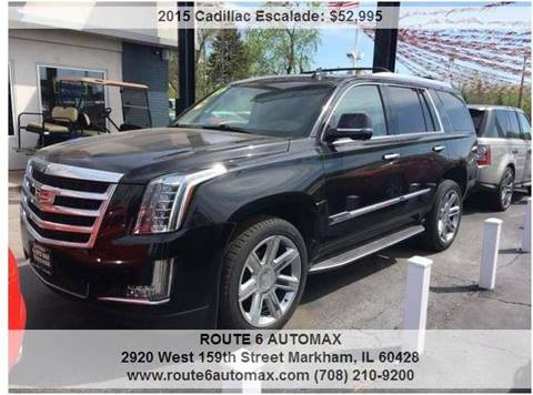 2015 Cadillac Escalade for sale at ROUTE 6 AUTOMAX in Markham IL