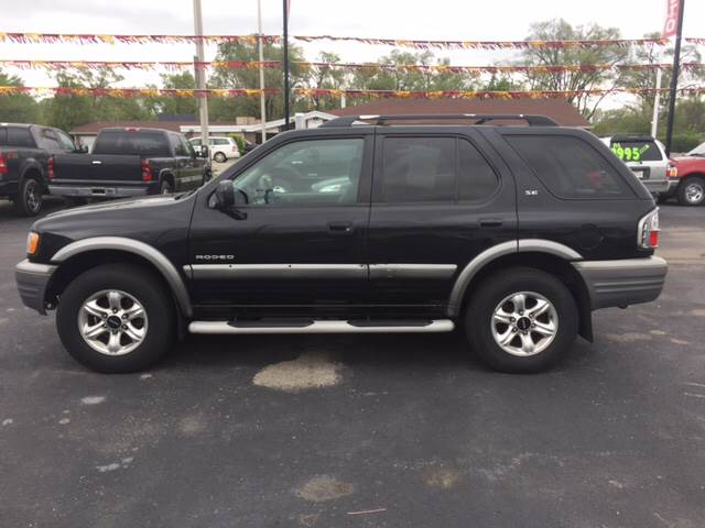 2002 Isuzu Rodeo for sale at ROUTE 6 AUTOMAX in Markham IL