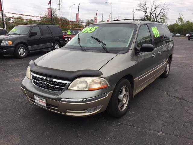 2000 Ford Windstar for sale at ROUTE 6 AUTOMAX in Markham IL