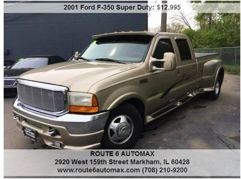 2001 Ford F-350 Super Duty for sale at ROUTE 6 AUTOMAX in Markham IL