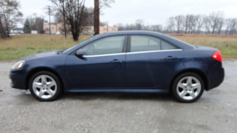 2010 Pontiac G6 4dr Sedan w/1SA - Harvey IL