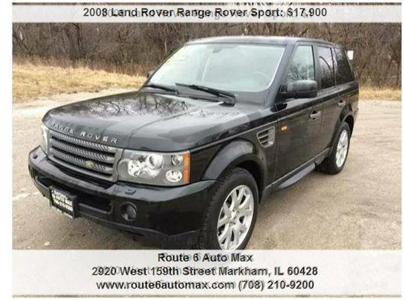 2008 Land Rover Range Rover Sport 4x4 HSE 4dr SUV - Harvey IL