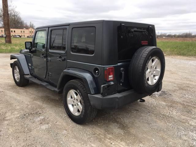 2007 Jeep Wrangler Unlimited Sahara 4dr SUV - Harvey IL