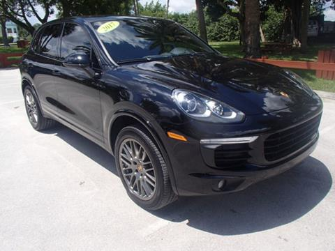 2017 Porsche Cayenne for sale in Stuart, FL