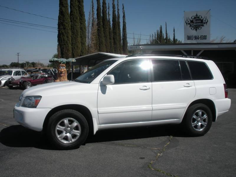 Toyota Highlander Fwd Dr SUV V Wrd Row In Littlerock CA - 2004 highlander