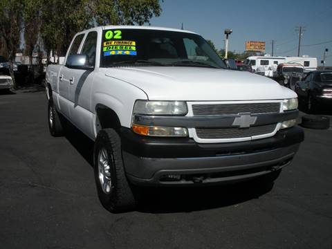 2002 Chevrolet Silverado 2500HD for sale at Vehicle Liquidation in Littlerock CA