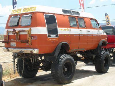 1972 Dodge Sport Van  - Littlerock CA