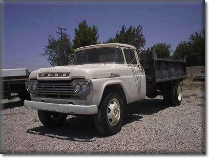 1959 Ford Dump Truck for sale at Vehicle Liquidation in Littlerock CA