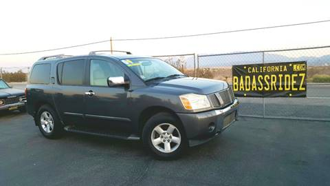 2004 Nissan Armada for sale at Vehicle Liquidation in Littlerock CA