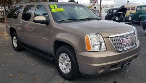 2007 GMC Yukon XL for sale at Vehicle Liquidation in Littlerock CA