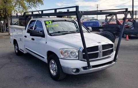 2007 Dodge Ram Pickup 2500 for sale at Vehicle Liquidation in Littlerock CA