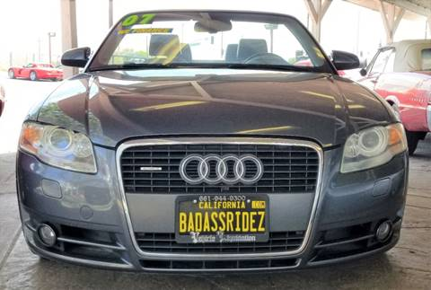 2007 Audi A4 for sale at Vehicle Liquidation in Littlerock CA