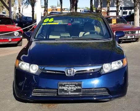 2006 Honda Civic for sale in Littlerock, CA