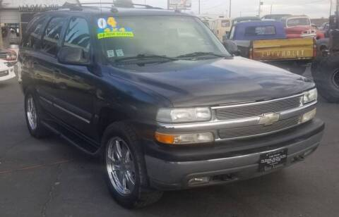 2004 Chevrolet Tahoe for sale at Vehicle Liquidation in Littlerock CA