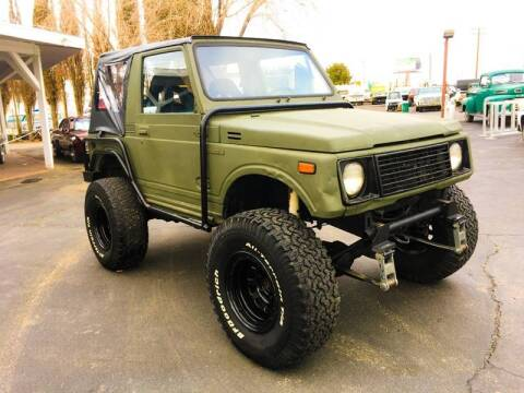 1986 Suzuki Samurai for sale at Vehicle Liquidation in Littlerock CA