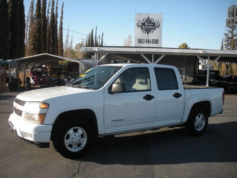 2004 Chevrolet Colorado 4dr Crew Cab Z85 Ls Rwd Sb In Littlerock Ca
