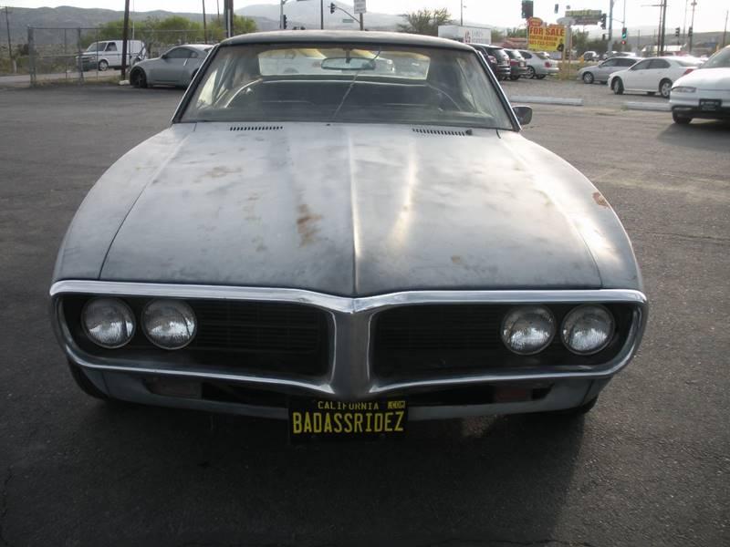 1967 Pontiac Firebird  - Littlerock CA