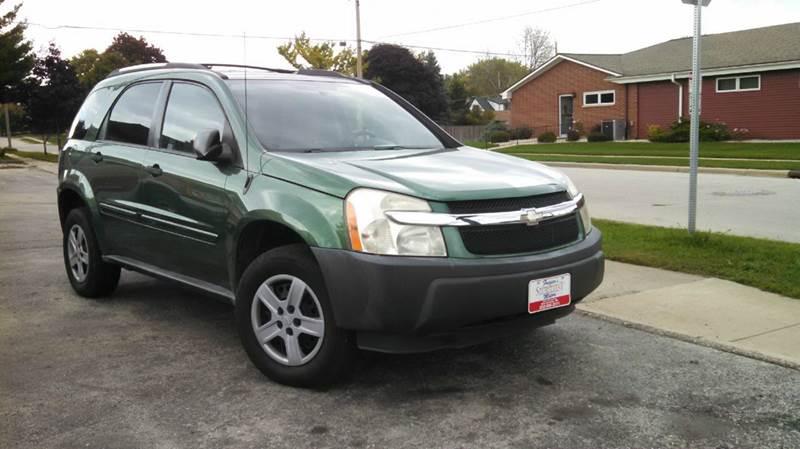 2005 Chevrolet Equinox for sale at Fraziers Sturtevant Motors in Sturtevant WI