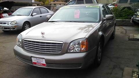 2002 Cadillac DeVille for sale at Fraziers Sturtevant Motors in Sturtevant WI