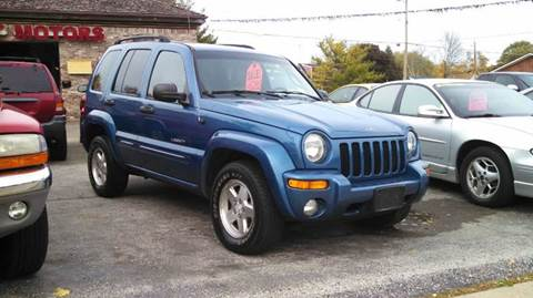 2003 Jeep Liberty for sale at Fraziers Sturtevant Motors in Sturtevant WI