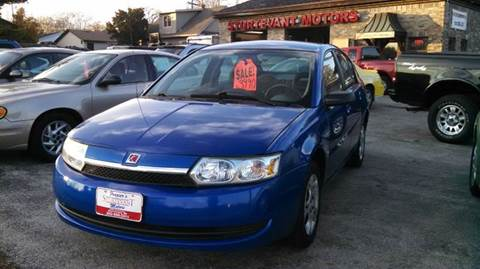 2003 Saturn Ion for sale at Fraziers Sturtevant Motors in Sturtevant WI