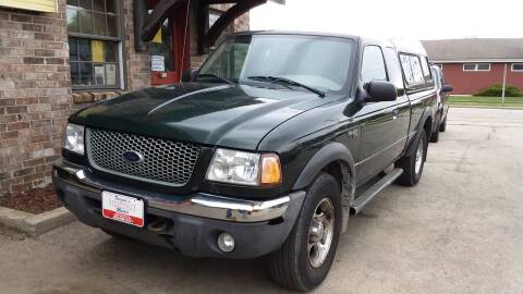 2001 Ford Ranger XLT for sale at Fraziers Sturtevant Motors in Sturtevant WI
