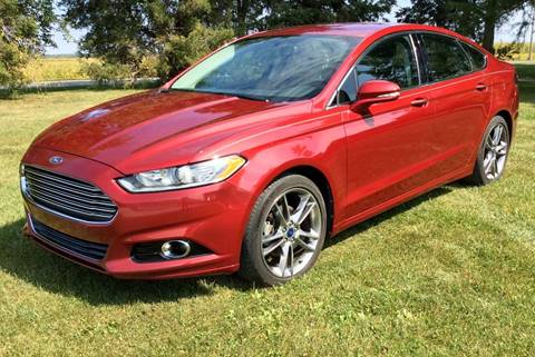 2013 Ford Fusion for sale in Rensselaer, IN