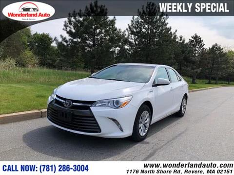 2016 Toyota Camry Hybrid for sale in Revere, MA