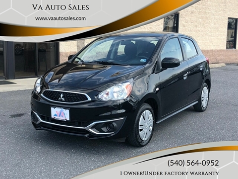 2018 Mitsubishi Mirage for sale in Harrisonburg, VA