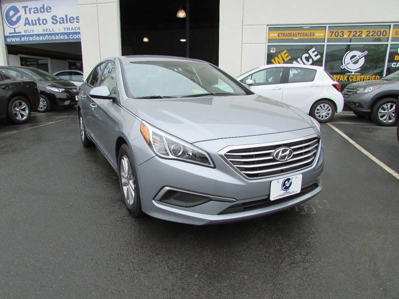 2016 Hyundai Sonata SE 4dr Sedan - Chantilly VA