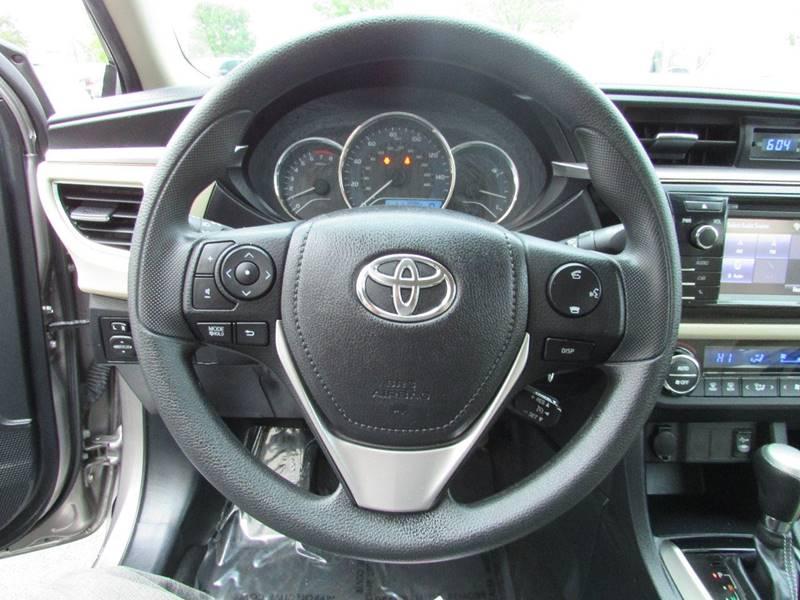2014 Toyota Corolla LE Plus 4dr Sedan - Chantilly VA