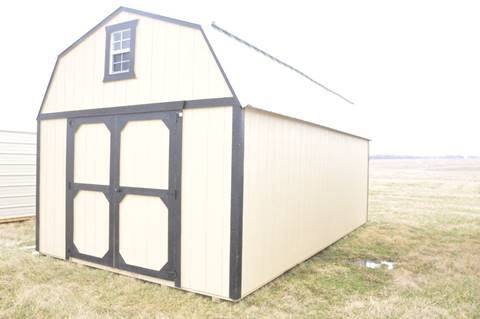 Lofted Barn 12x20 for sale at Brett's Automotive in Kahoka MO