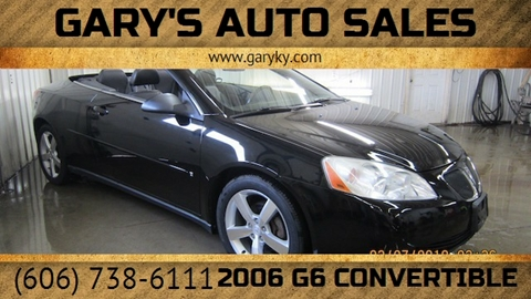 2006 Pontiac G6 for sale in Sandy Hook, KY