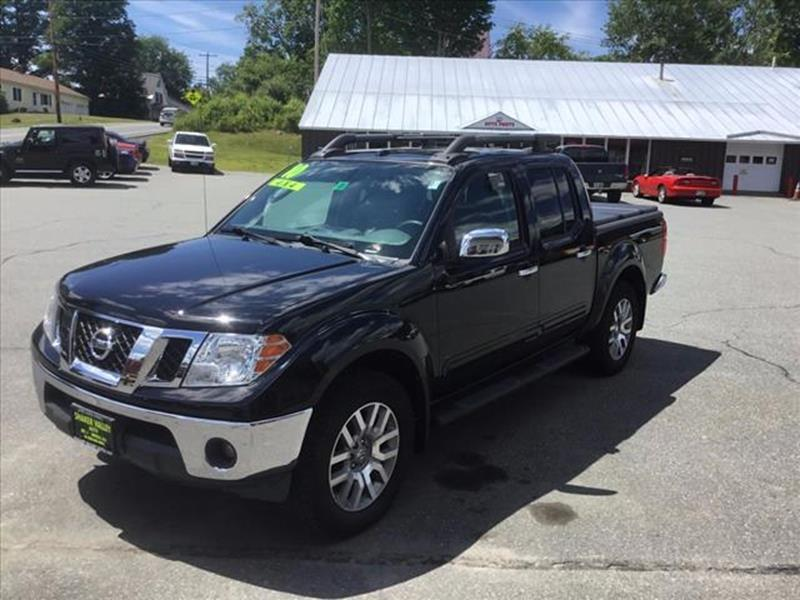 2010 Nissan Frontier 4x4 SE V6 4dr Crew Cab SWB Pickup 5A - Enfield NH
