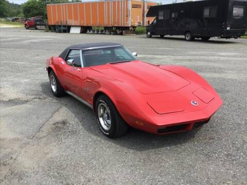 1973 Chevrolet Corvette for sale at SHAKER VALLEY AUTO SALES - Classic Cars in Enfield NH