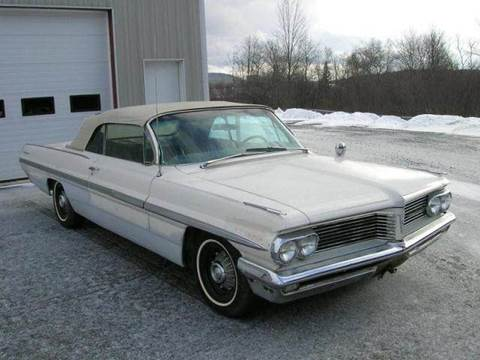 1962 Pontiac Bonneville for sale at SHAKER VALLEY AUTO SALES - Classic Cars in Enfield NH