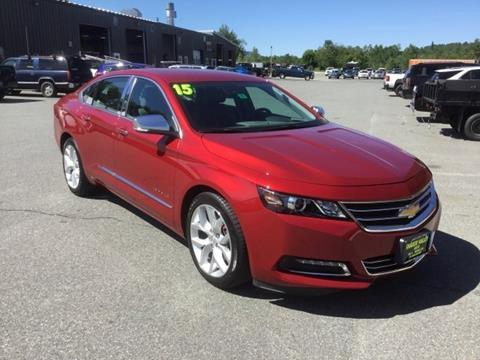 2015 Chevrolet Impala for sale in Enfield, NH