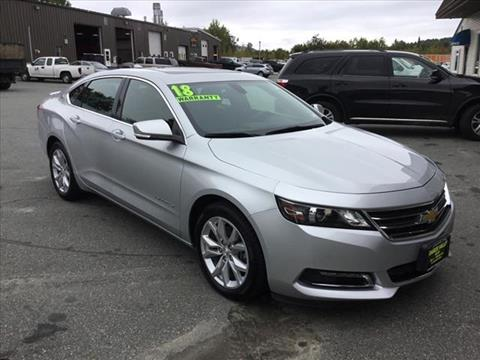 2018 Chevrolet Impala for sale in Enfield, NH