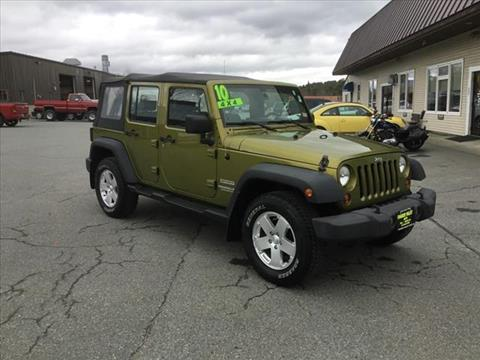 2010 Jeep Wrangler Unlimited for sale in Enfield, NH