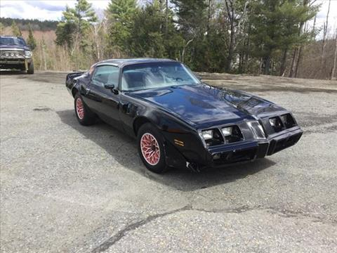 1980 Pontiac Trans Am for sale in Enfield, NH