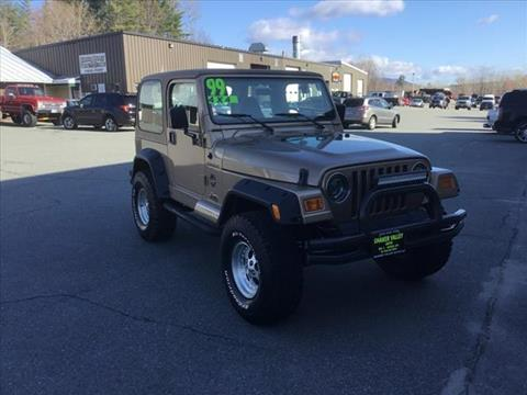 1999 Jeep Wrangler for sale in Enfield, NH