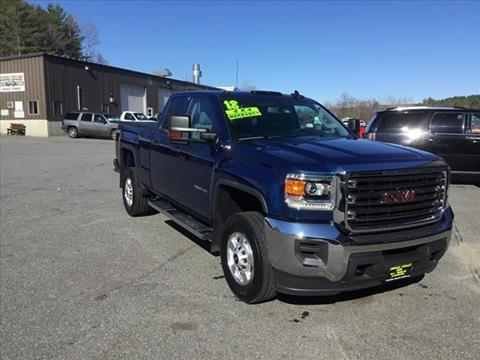 2018 GMC Sierra 2500HD for sale in Enfield, NH