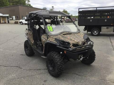 2018 Can-Am COMMANDER MOSSY OAK for sale at SHAKER VALLEY AUTO SALES in Enfield NH