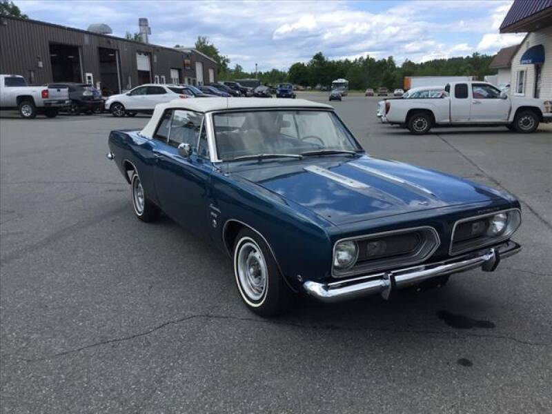 1968 Plymouth Barracuda for sale at SHAKER VALLEY AUTO SALES in Enfield NH