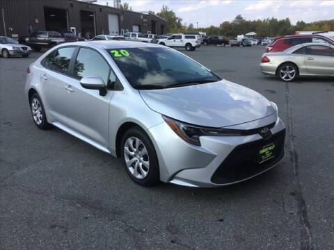 2020 Toyota Corolla for sale at SHAKER VALLEY AUTO SALES in Enfield NH