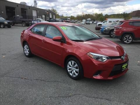 2015 Toyota Corolla for sale at SHAKER VALLEY AUTO SALES in Enfield NH