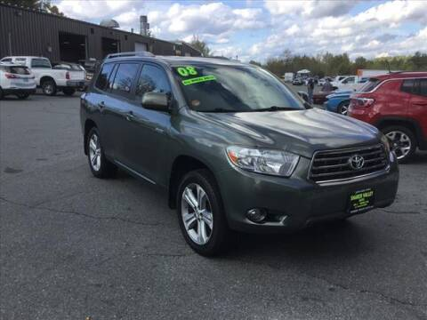 2008 Toyota Highlander for sale at SHAKER VALLEY AUTO SALES in Enfield NH