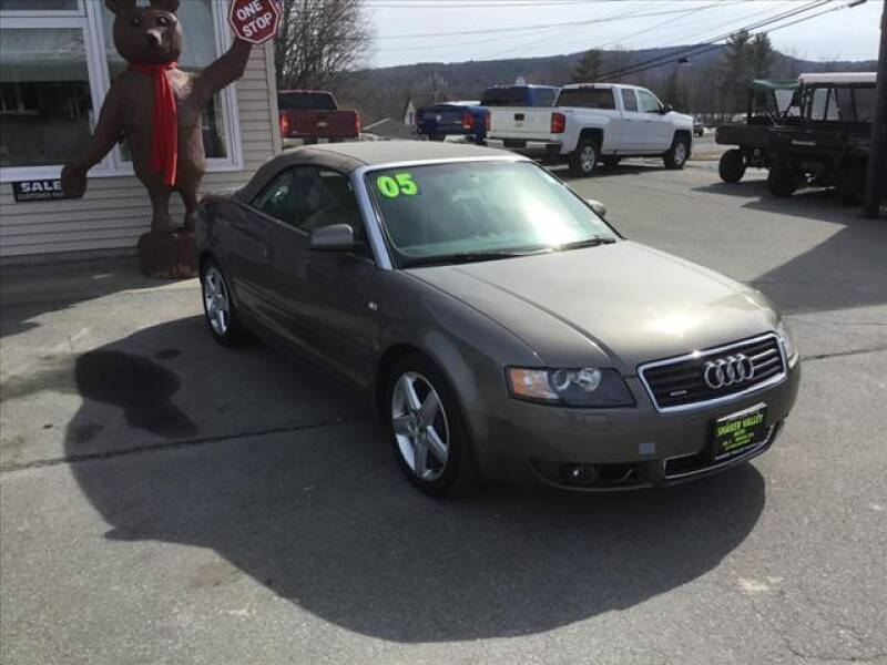 2005 Audi A4 for sale at SHAKER VALLEY AUTO SALES in Enfield NH
